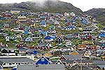 Qaqortoq town, Greenland
