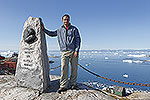 Rob at Ilulissat, Greenland