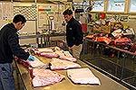 Minke Whale in market