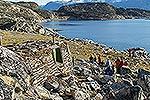 Santa's summer house, Uummannaq, Greenland