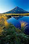 Mt Taranaki reflected in tarn