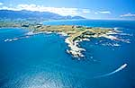 Kaikoura Peninsula from the air