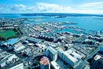 Auckland city from Sky Tower