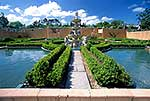 Italian garden and pond in Hamilton