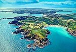 Aerial view, Waiheke Is, Auckland