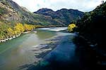 Matukituki River and Lake Wanaka