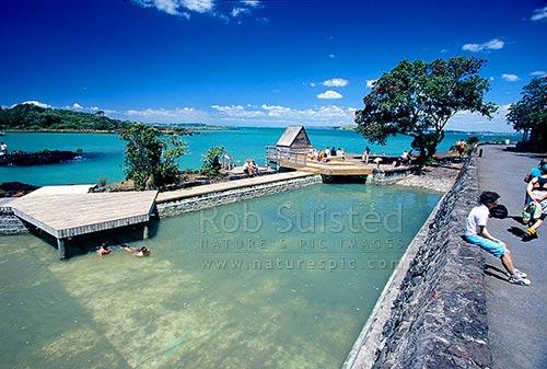 Rangitoto Island Historic Salt Water Swimming Baths