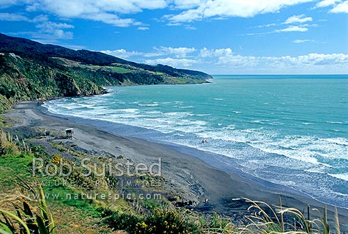 Raglan New Zealand  City new picture : , Raglan Coast, Raglan, Waikato District, Waikato Region, New Zealand ...