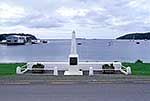 War memorial at Halfmoon Bay