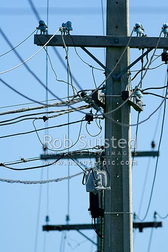 Astonishing Tangle Of Telephone Wires Power Lines And Cable Tv Cables On Power Wiring Digital Resources Funapmognl