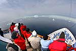 Pack ice watchers, Antarctica