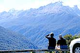 Tourists enjoying view