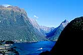 Tourists on Milford Sound