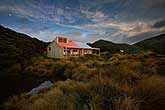Sunrise hut at Sunrise, Ruahine