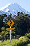 Taranaki traffic sign