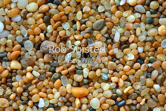Multi Coloured Round Sand Particles Sand Texture New