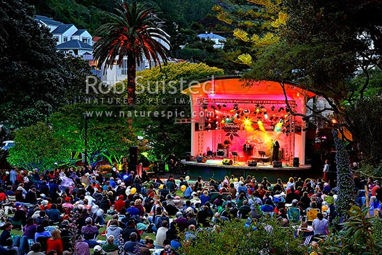 Botanic Gardens Concerts Wellington Garden Ftempo