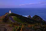 Cape Reinga Lighthouse at sunset
