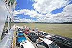 Cars on Rawene vehicle ferry