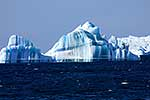 Striated iceberg, Antarctica