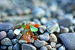 Beach glass -  recycle