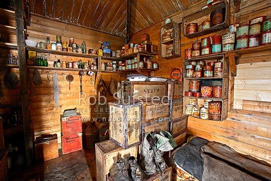 Kitchen Area Of Ernest Shackleton S British Antarctic