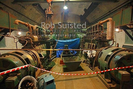 Historic World War II long range coastal defence battery at Wrights