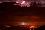 Amazing Lightning strom of Wellington City, New Zealand �Rob Suisted