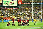 Rugby Super 14 game, Hurr vs Crus