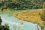 Tourist boat on Mokau River