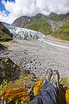 Taking a rest at Fox Glacier