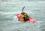 Kayaker on the Buller River