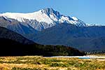Rugged mountains at Haast
