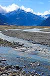 Braided river valley