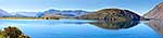 Lake Wanaka, autumn calm panorama