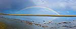 Rainbow over Oreti Beach