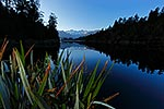 Early morning at Lake Matheson