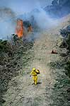 Bush and gorse fire, rural firefighting