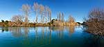 Waikato River, winter panorama