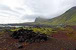 Tourists visiting Jan Mayen Island