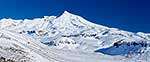 Mount Ruapehu in winter