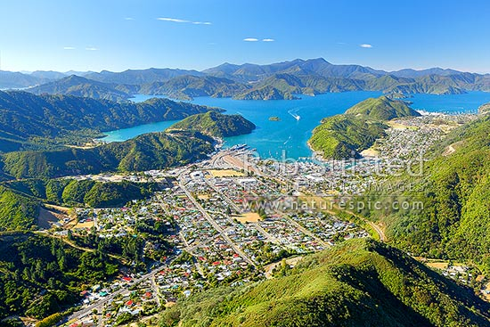 Picton New Zealand  city photos gallery : ... Picton, Marlborough District, Marlborough Region, New Zealand NZ