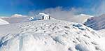 Mount Taranaki, Syme Hut in winter