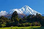 Mt Taranaki in winter