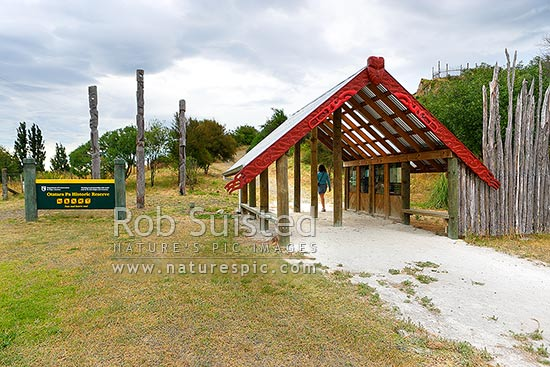 Otatara Pa Historic Reserve Entrance Near Waiohiki One Of The Largest Comple In New Zealand Administered By Department Conservation Taradale