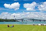 Auckland City and harbour bridge