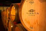 Te Mata Estate oak wine barrels