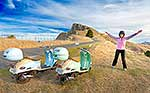 Scooters on Te Mata Peak, Hastings
