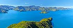 Marlborough Sounds Panorama