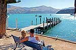 A couple in Akaroa
